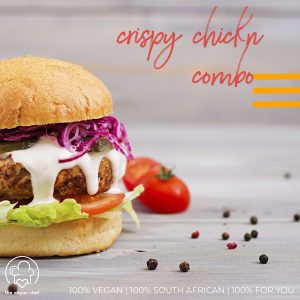 Braai Combo for 2 – Crispy Chickn Burger